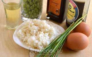 Рис по-китайски с овощами и яйцом: рецепт приготовления, ингредиенты