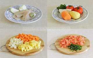 Рецепт рыбного супа из трески