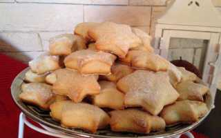 Мягкое печенье на сметане