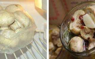 Три способа правильной заморозки свежих шампиньонов