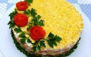 Салат мимоза: простые классические рецепты
