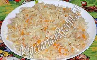 Пошаговый рецепт хрустящей квашеной капусты с клюквой