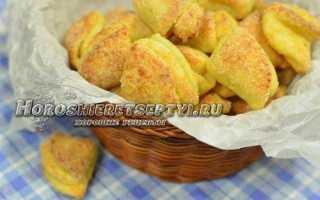 Рецепт творожного печенья «ушки»