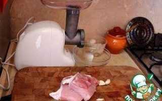 Домашние куриные сосиски