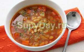 Классический рецепт супа из лесных сушеных грибов с перловкой