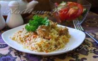 Рецепт плов из бедра индейки. калорийность, химический состав и пищевая ценность