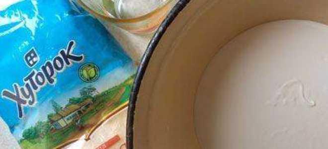 Манник на сметане без муки: рецепты приготовления