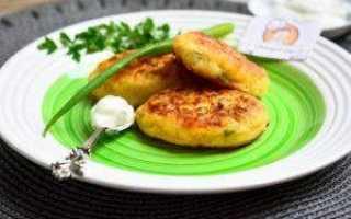 Пошаговый рецепт приготовления оладий из картофельного пюре