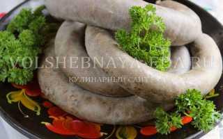 Домашняя ливерная колбаса: рецепты приготовления по госту ссср, в духовке, на сковороде