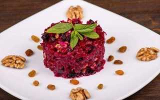 Рецепт свекла с грецким орехом. калорийность, химический состав и пищевая ценность