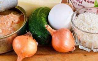 Горбуша консервированная — рецепты